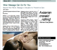 What Massage Can do For You Beyond Pain Relief